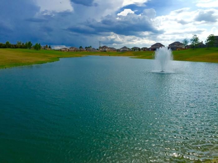 Pond Clearing Lake Maintenance
