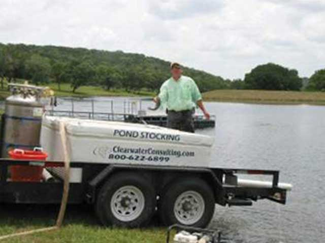 Fish Stocking for Ponds and Lakes Throughout Texas