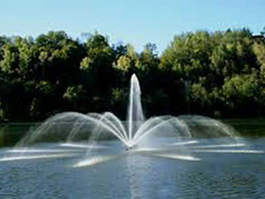 Aeration Fountain