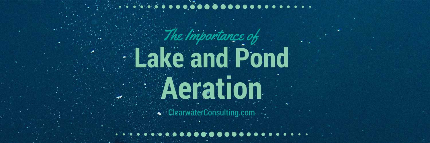 The Importance of Lake and Pond Aeration