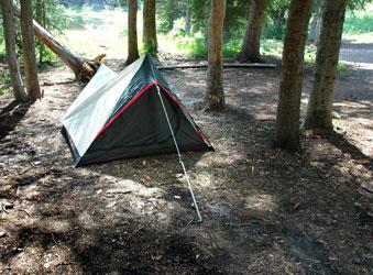 Summer Lake Activities Camping