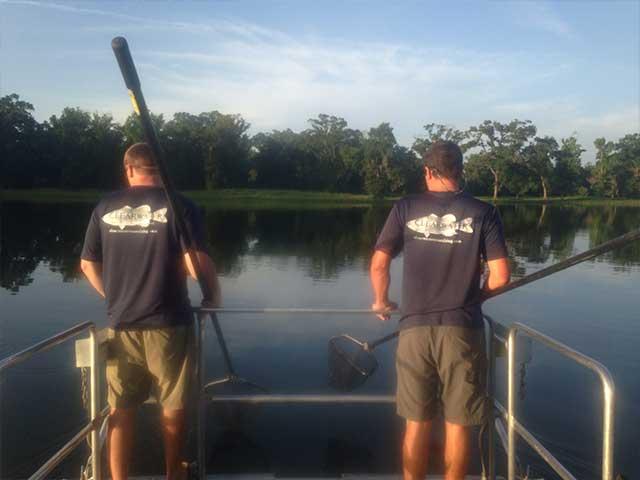 Electrofishing for Lake Assessment