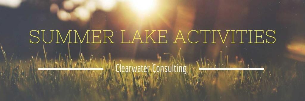 Summer Lake Activities